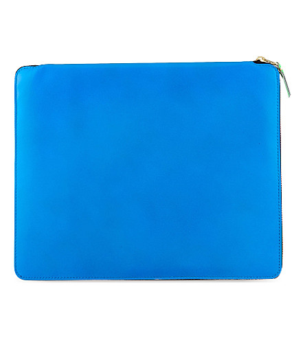 COMME DES GARCONS Document holder (Blue