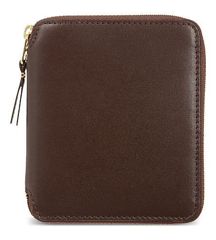 COMME DES GARCONS Classic leather wallet (Brown