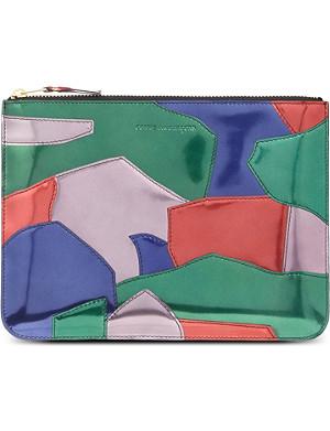 COMME DES GARCONS Patchwork pouch