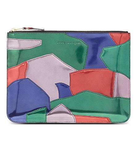 COMME DES GARCONS Patchwork pouch (Multi