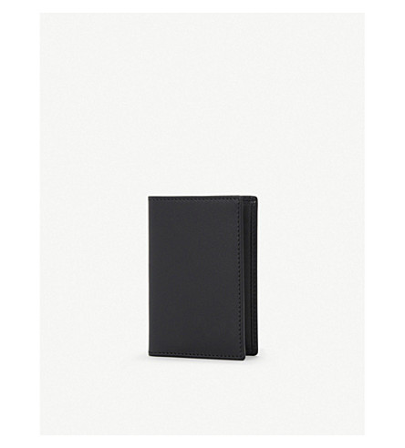 COMME DES GARCONS Classic leather card holder (Blk