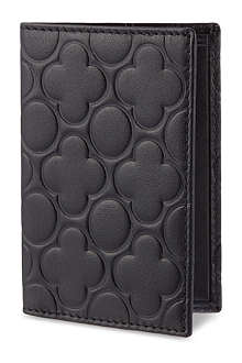 COMME DES GARCONS Embossed card holder