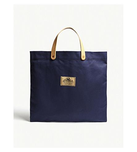 JUNYA WATANABE Junya Watanabe x Seil Marschall canvas tote bag (Navy