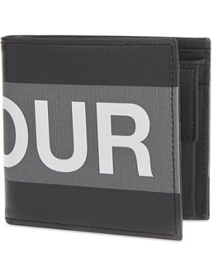 ALEXANDER MCQUEEN Valour leather billfold wallet