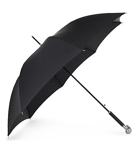 ALEXANDER MCQUEEN Skull umbrella (Black+silver