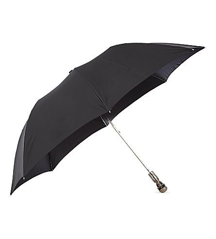 ALEXANDER MCQUEEN Compact skull umbrella (Silver