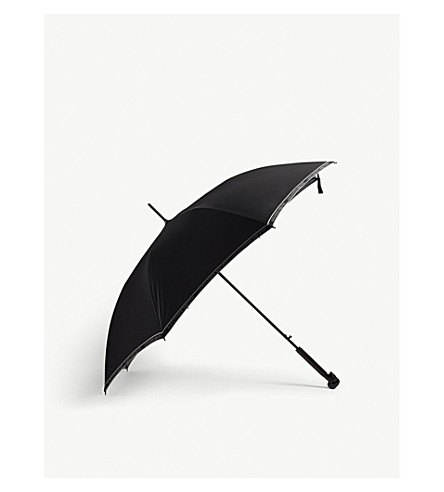 Selvedge skull umbrella