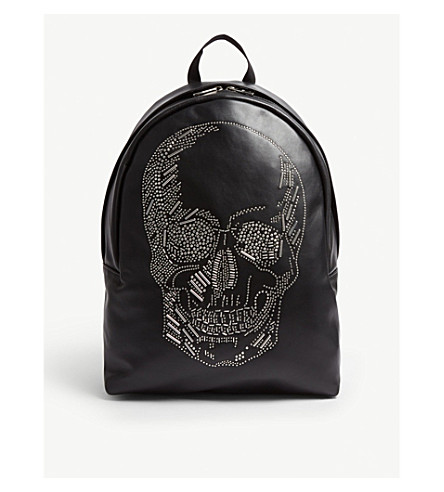 Embellished Stud Mcqueen Alexander Backpack Leather pE8TAAqOW