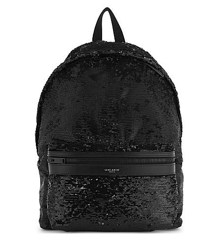 SAINT LAURENT City backpack (Black