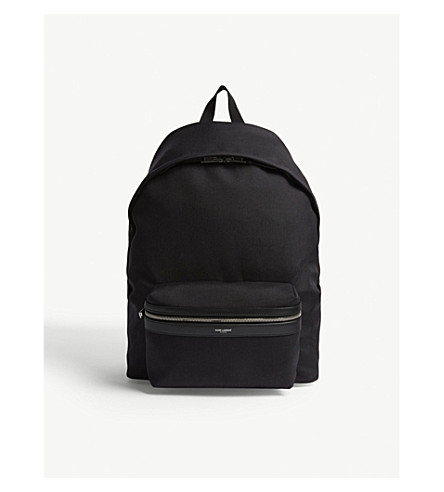 SAINT LAURENT Giant city backpack (Black