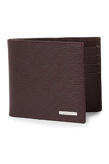ZEGNA Heritage bi-fold leather wallet