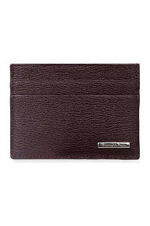 ZEGNA Heritage credit card holder