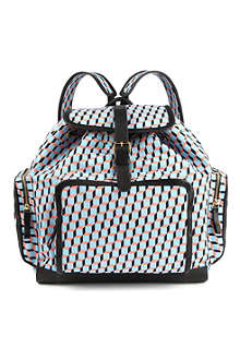 PIERRE HARDY Cube-printed backpack