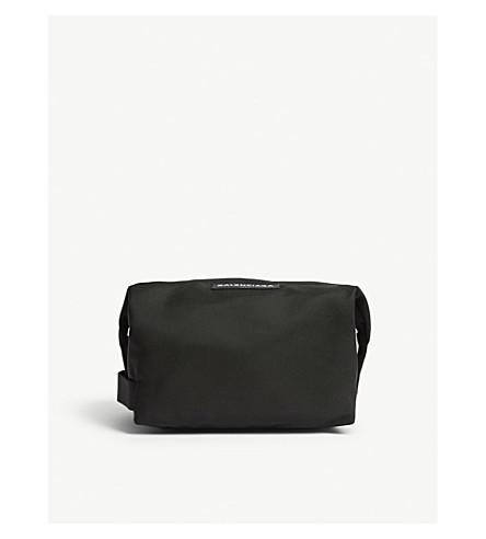 BALENCIAGA Logo wash bag (Black