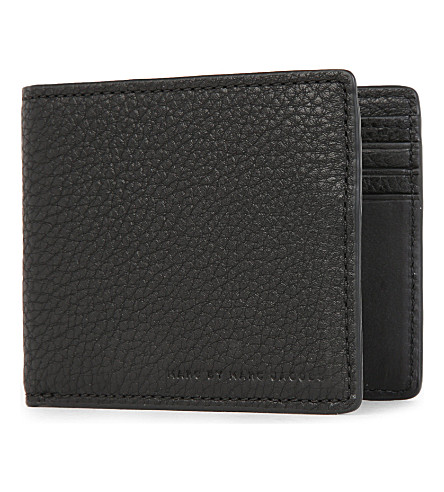 MARC JACOBS Classic leather Martin wallet (Black