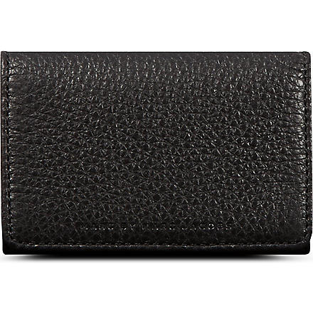 MARC BY MARC JACOBS Classic leather card holder (Black