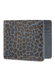 MARC BY MARC JACOBS Leopardmania Martin wallet