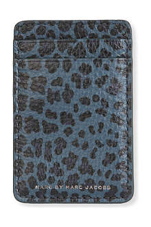 MARC BY MARC JACOBS Leopardmania credit card holder