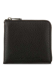 MARC BY MARC JACOBS Classic leather half-zip wallet
