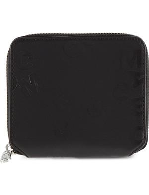 MULBERRY Embossed zip-around wallet