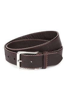FULLUM & HOLT Peddled leather belt