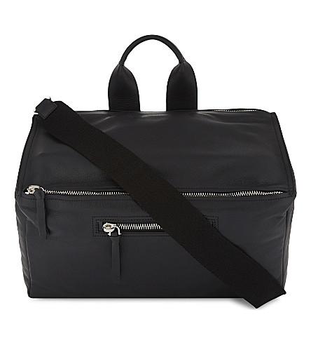GIVENCHY Pandora grained leather shoulder bag (Black