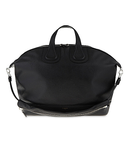 GIVENCHY Nightingale leather tote (Black