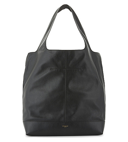 GIVENCHY Leather tote (Black