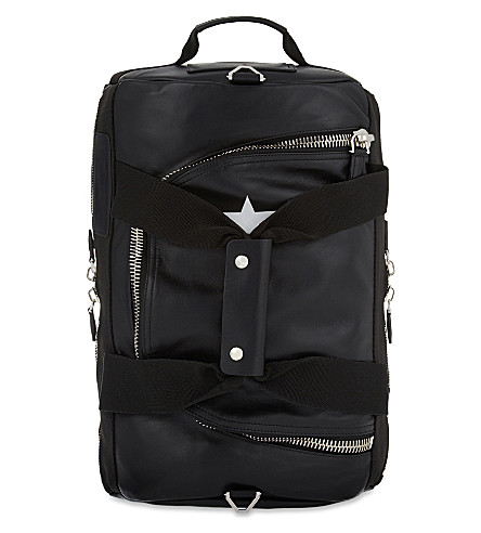 GIVENCHY 17 star leather backpack (Black