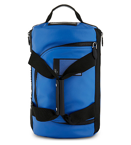 GIVENCHY Coated canvas backpack (Blue