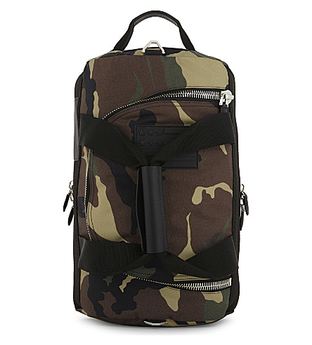 GIVENCHY Camouflage canvas backpack (Camo