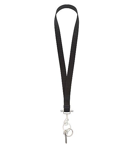 GIVENCHY Obsedia keychain lanyard (Black