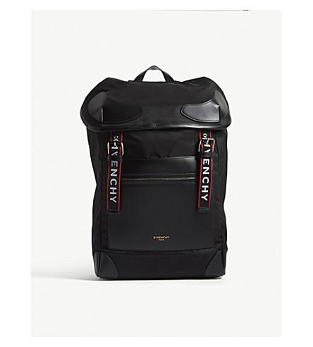 GIVENCHY Rider nylon backpack (Black