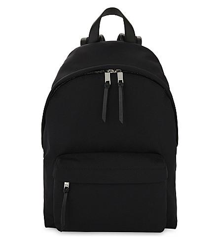 GIVENCHY Cordura star-print backpack (Black+red