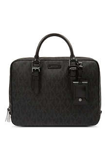 MICHAEL KORS Signature logo briefcase