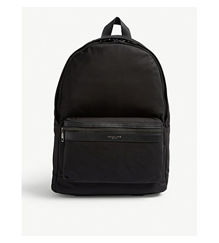MICHAEL KORS Kent nylon backpack (Black
