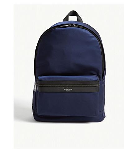 MICHAEL KORS Kent nylon backpack (Indigo