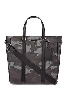 MICHAEL KORS Large camouflage print tote bag
