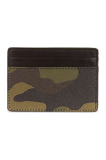 MICHAEL KORS Camouflage card case