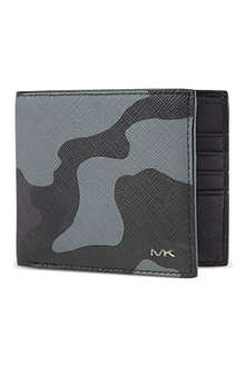 MICHAEL KORS Camo billfold wallet