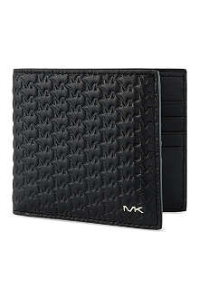 MICHAEL KORS Black billfold wallet