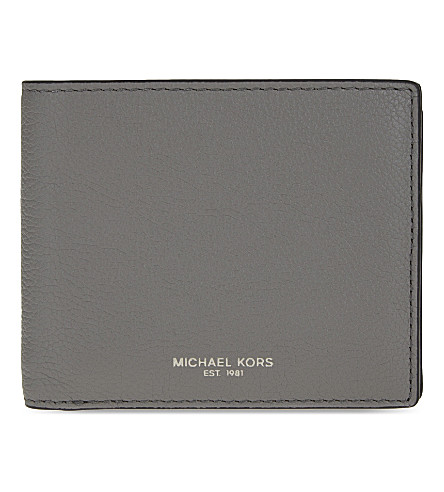 MICHAEL KORS Bryant leather billfold wallet (Marine