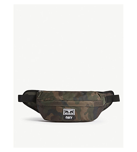 OBEY Drop Out bum bag (Field+camo