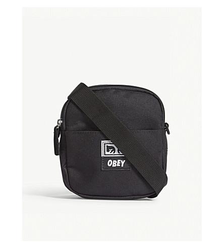 OBEY Drop Out traveller bag (Black
