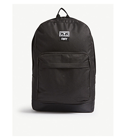 OBEY Drop Out Juvee backpack (Black