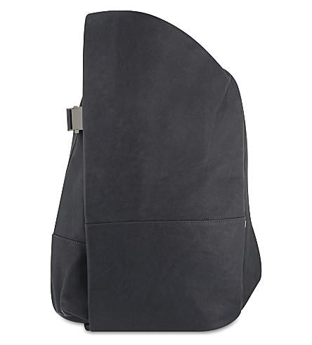 COTE & CIEL Isar Alias leather rucksack (Graphite