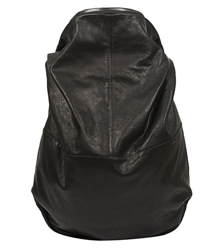 COTE & CIEL Nile Alias leather backpack (Black