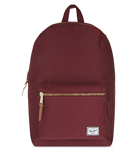 HERSCHEL SUPPLY CO Settlement canvas backpack (Windsor+wine