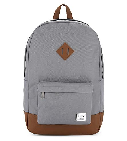 HERSCHEL SUPPLY CO Heritage backpack (Grey/tan