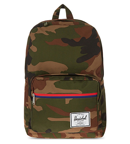 HERSCHEL SUPPLY CO Camo pop quiz backpack (Woodland+camo+/+multi